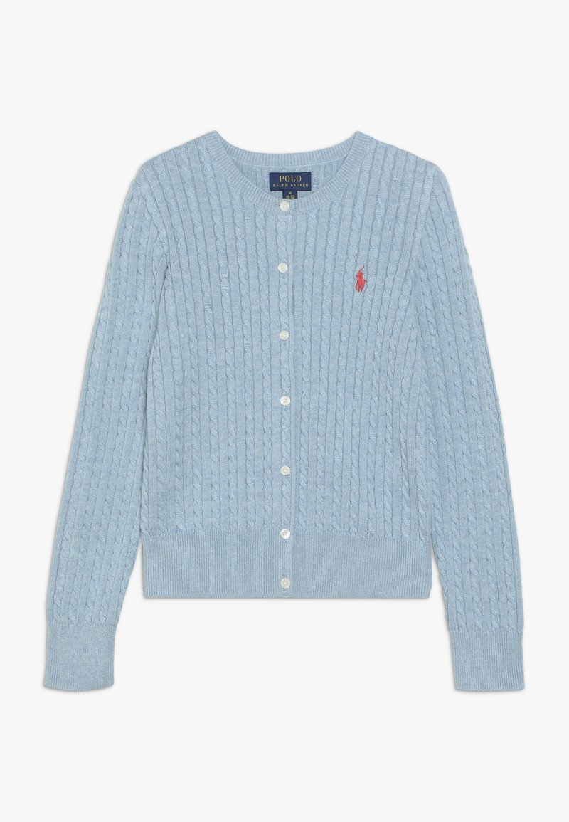 Polo Ralph Lauren - CARDIGAN - Kardigan - modern blue heather