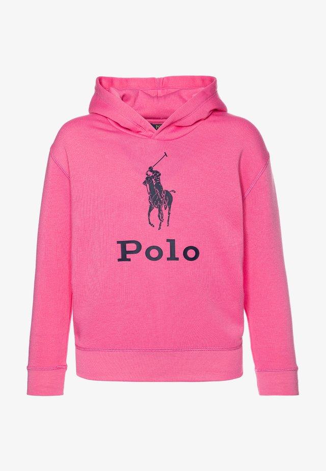 Felpa con cappuccio - baja pink