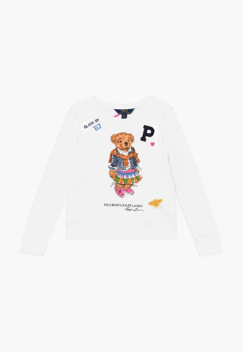 Polo Ralph Lauren - BEAR  - Felpa - white