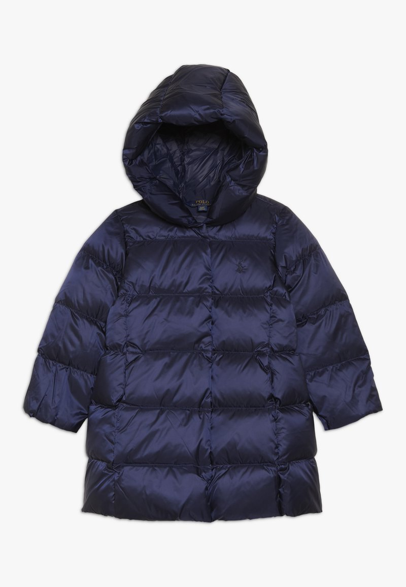 Polo Ralph Lauren - LONG OUTERWEAR JACKET - Płaszcz puchowy - french navy