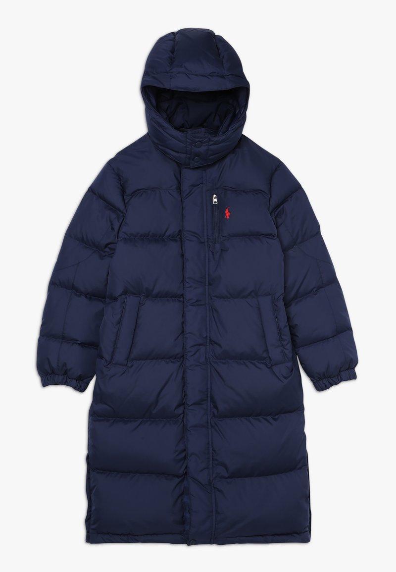 Polo Ralph Lauren - LONG CAP OUTERWEAR JACKET - Kabát zprachového peří - french navy