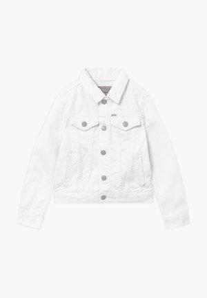 TRUCKER OUTERWEAR - Džínová bunda - white