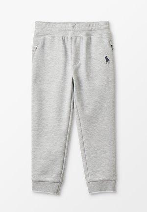 DOUBLE TECH JOGGER BOTTOMS PANT - Spodnie treningowe - grey ash heather