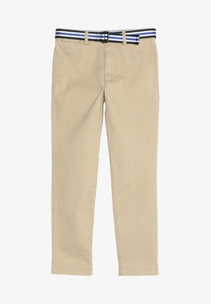 TISSUE BELTED PANT - Chinos - classic khaki