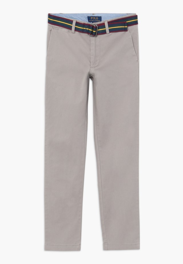 PREPPY BOTTOMS PANT - Chinos - soft grey