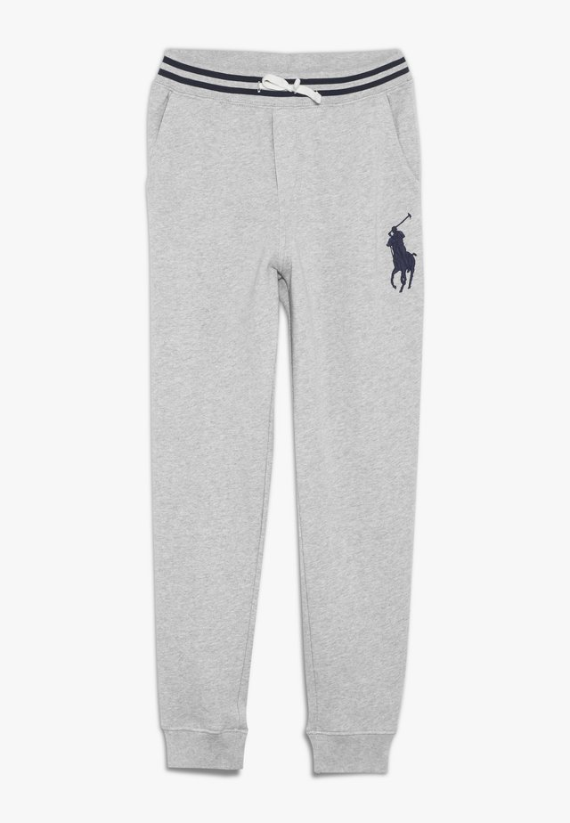 BOTTOMS PANT - Spodnie treningowe - light grey heather