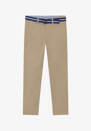 PANT BOTTOMS - Bukse - classic khaki