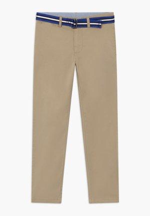 PANT BOTTOMS - Kalhoty - classic khaki