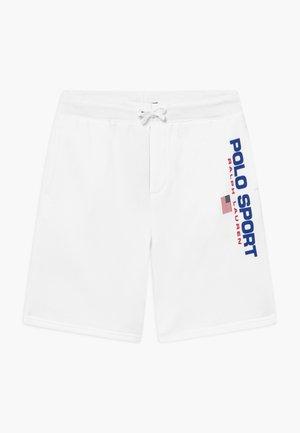 BOTTOMS - Teplákové kalhoty - white