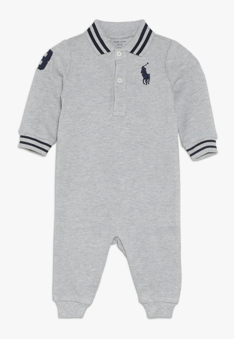 Polo Ralph Lauren - BASIC COVERAL BABY - Jumpsuit - andover grey heather