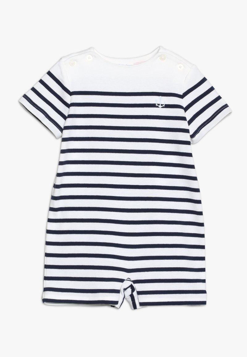 Polo Ralph Lauren - STRIPE ONE PIECE - Jumpsuit - white/french navy