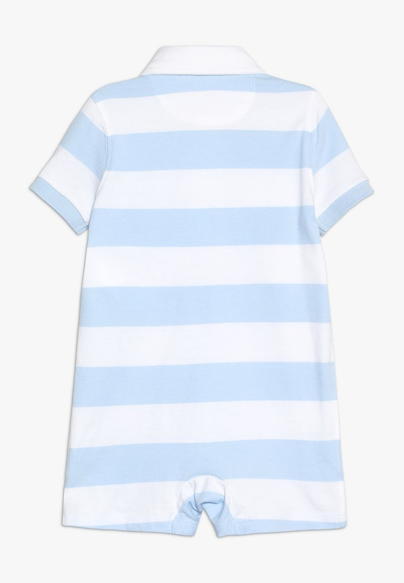 Polo Ralph Lauren - RUGBY ONE PIECE SHORTALL BABY - Jumpsuit - blue/white