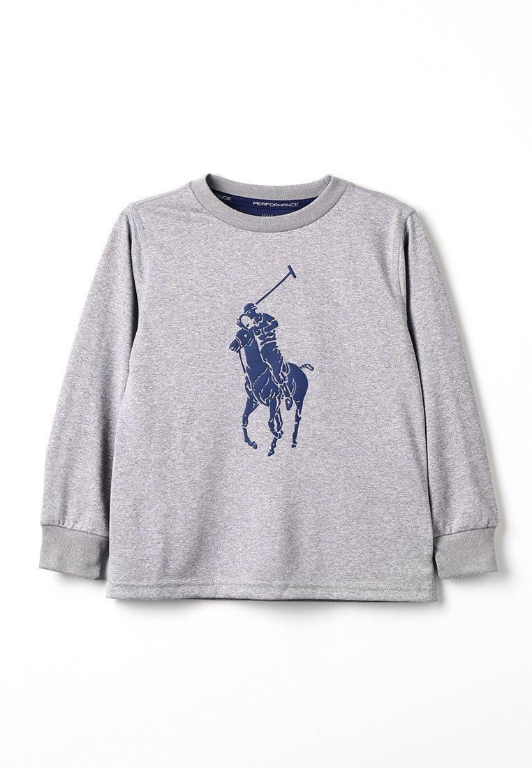Polo Ralph Lauren - PERFORMANCE BIG  - Long sleeved top - andover heather