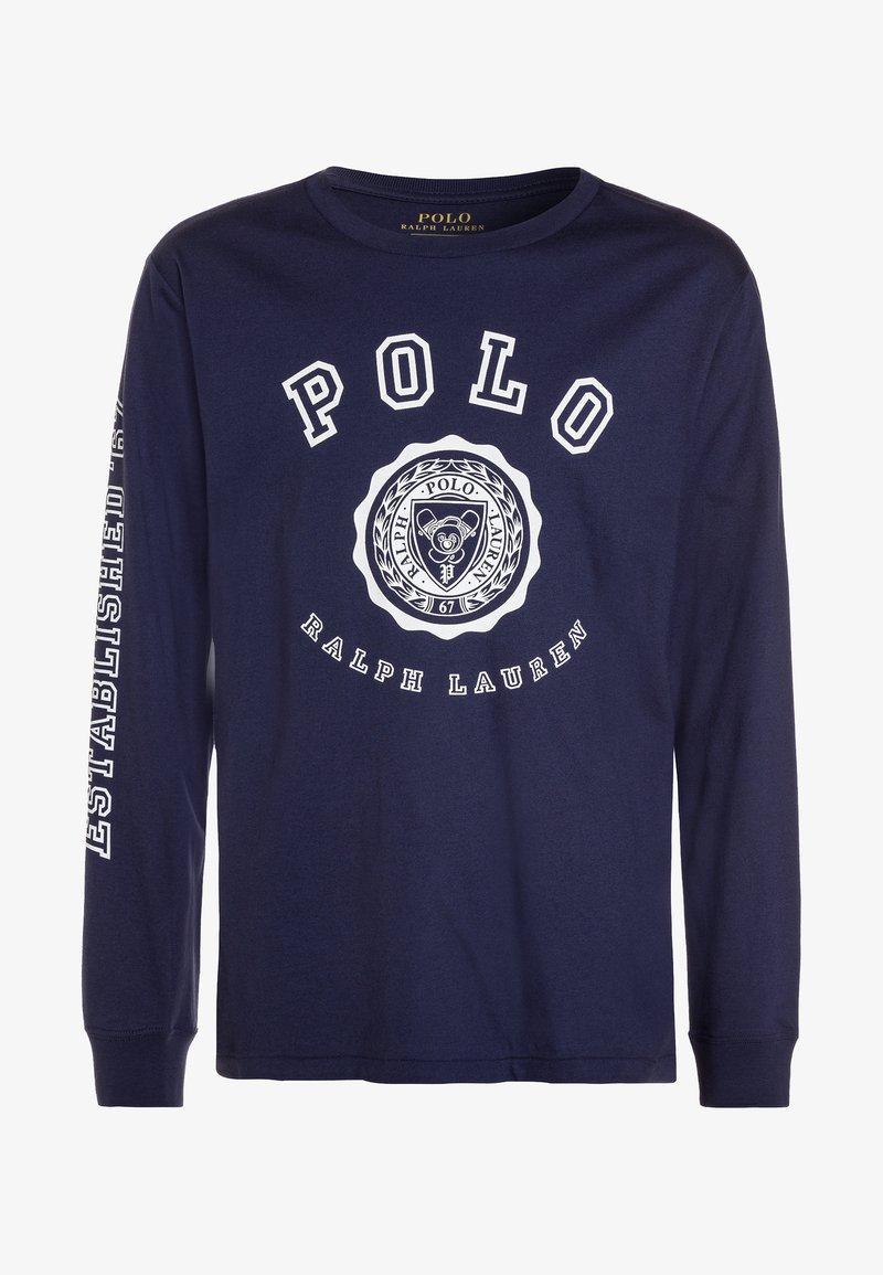 Polo Ralph Lauren - GRAPHIC TEE - Langærmede T-shirts - boathouse navy