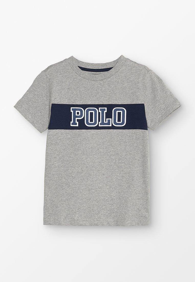 Polo Ralph Lauren - PIECED TEE - T-shirt z nadrukiem - andover heather