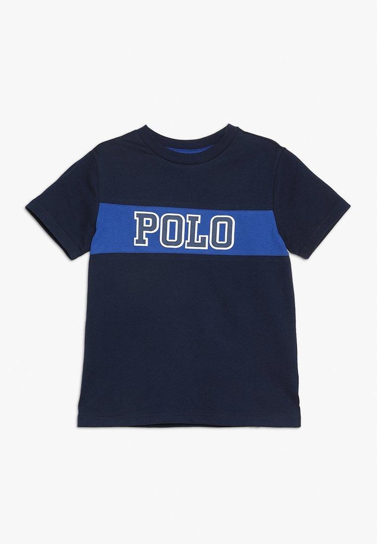 Polo Ralph Lauren - PIECED TEE - T-shirt con stampa - newport navy