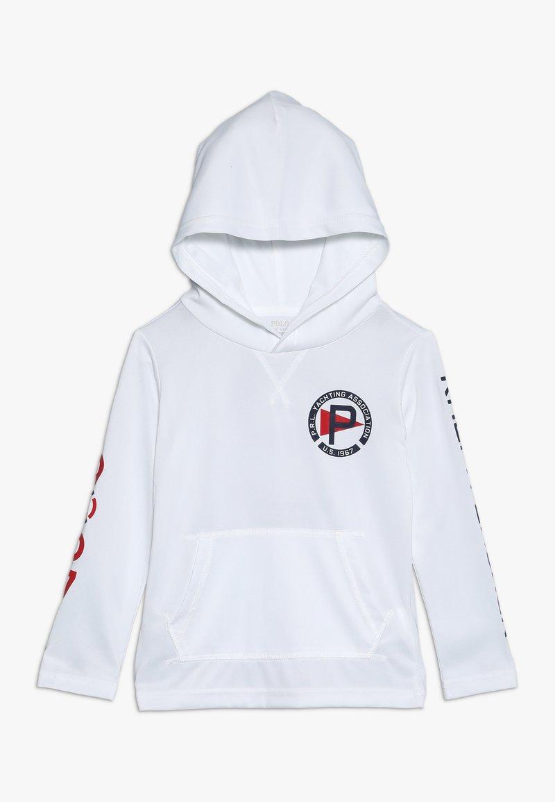 Polo Ralph Lauren - PERFORMANCE HOOD - Kapuzenpullover - white