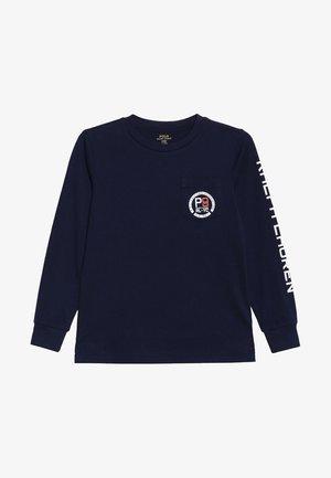 Långärmad tröja - newport navy