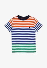 Polo Ralph Lauren - T-shirt med print - sailing orange multi - 2