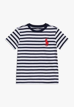 T-shirt med print - newport navy/multi