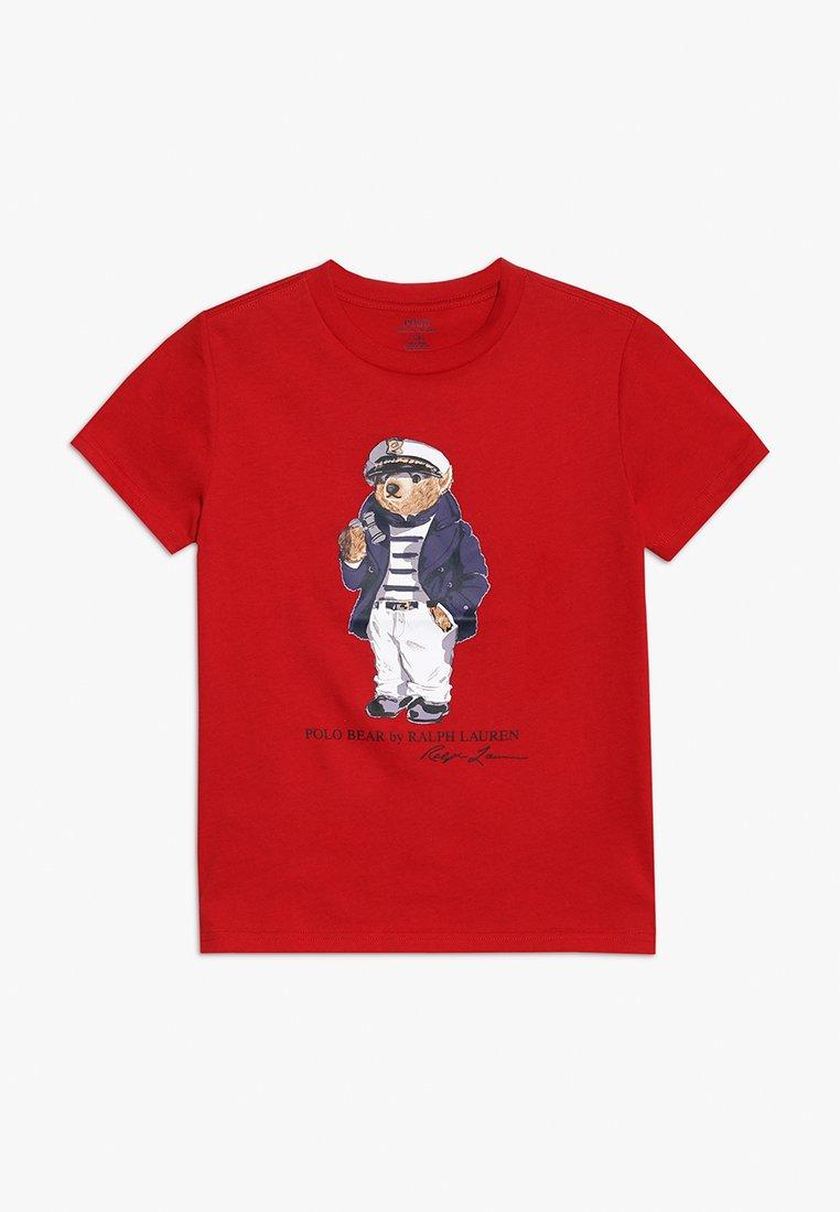 Polo Ralph Lauren - BEAR TEE - Camiseta estampada - red