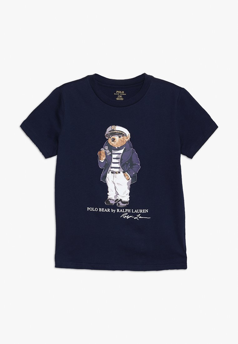 Polo Ralph Lauren - BEAR TEE - Camiseta estampada - newport navy