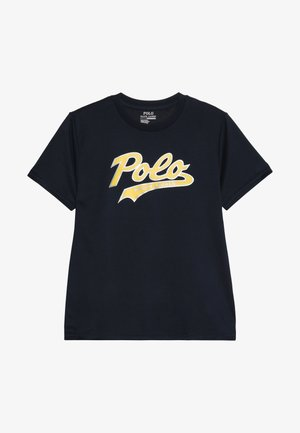 PERFORMANCE  - Print T-shirt - aviator navy