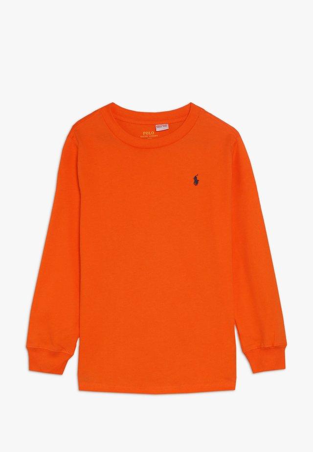 Långärmad tröja - bright signal orange