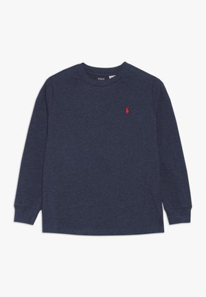 Top s dlouhým rukávem - basic navy heather