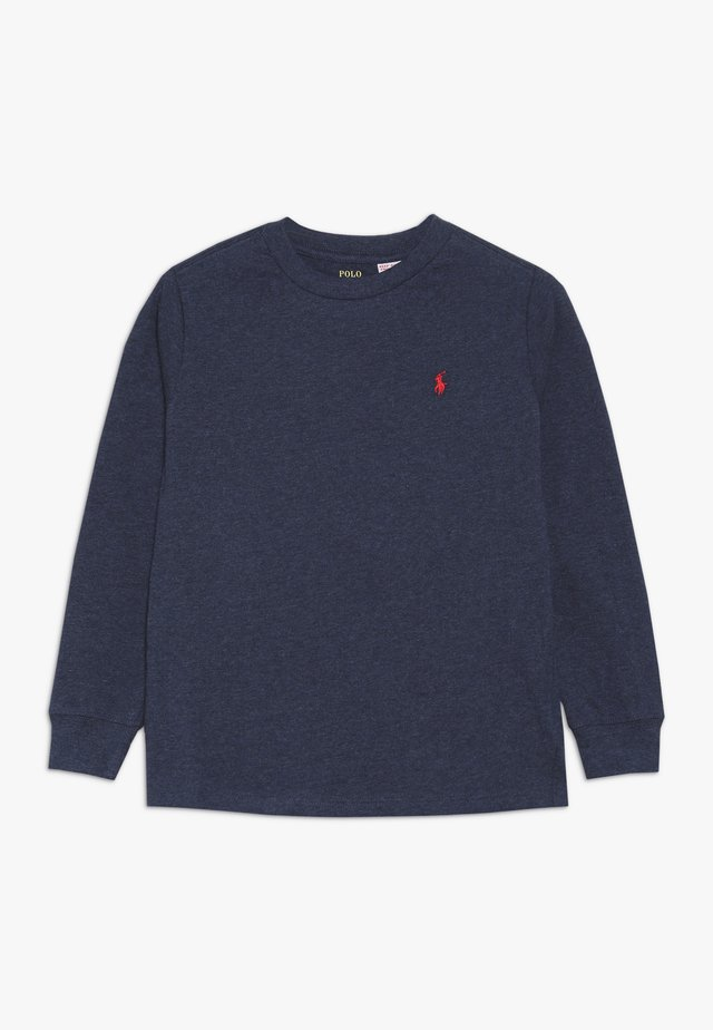 Long sleeved top - basic navy heather