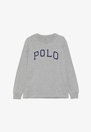 Long sleeved top - light grey heather