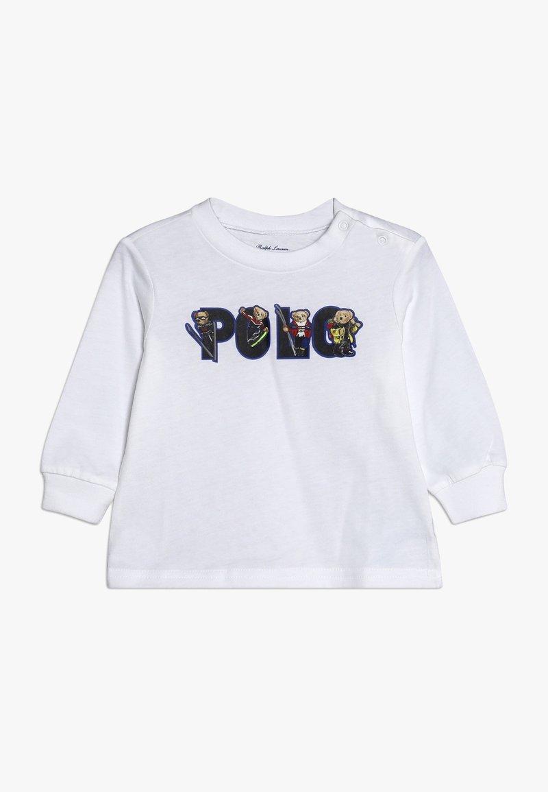 Polo Ralph Lauren - BEAR  - Long sleeved top - white