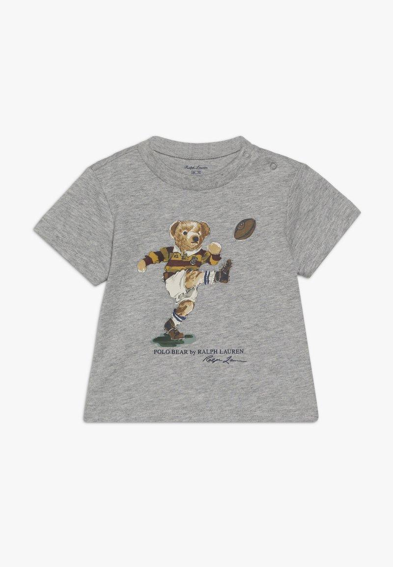 Polo Ralph Lauren - T-shirt med print - light grey