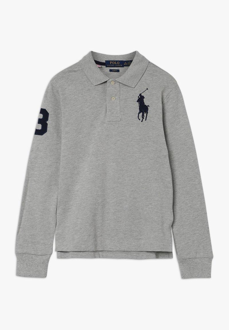 Polo Ralph Lauren - SLIM - Poloshirt - light grey heather