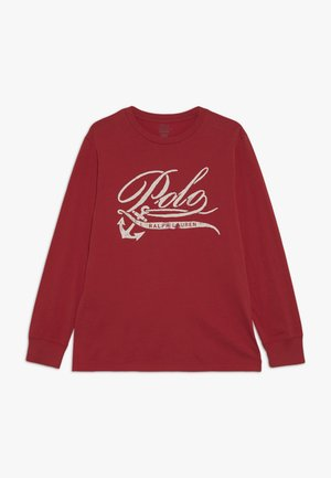 Longsleeve - sunrise red
