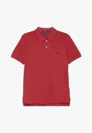 SLIM  - Polo - sunrise red