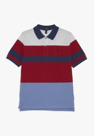 Polo shirt - sunrise red
