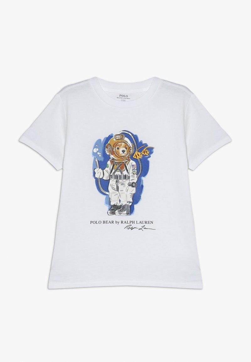Polo Ralph Lauren - T-shirt med print - white