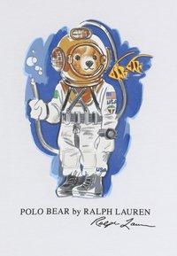 Polo Ralph Lauren - T-shirt med print - white - 4