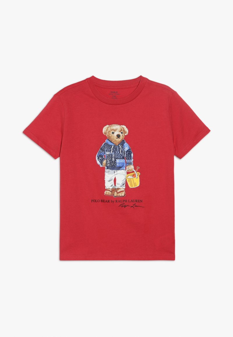 Polo Ralph Lauren - T-shirt con stampa - sunrise red