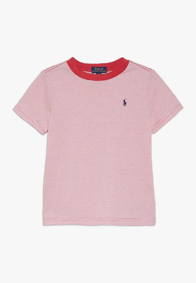 T-shirt con stampa - sunrise red