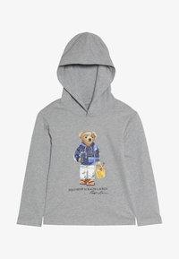 Polo Ralph Lauren - HOOD - Mikina skapucí - light grey heather - 2