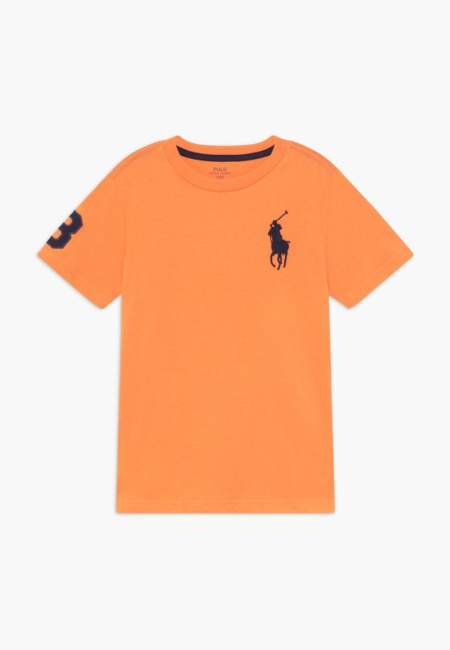T-shirt med print - thai orange