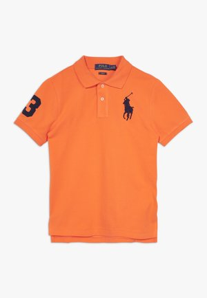 SLIM FIT - Poloshirt - bright signal orange