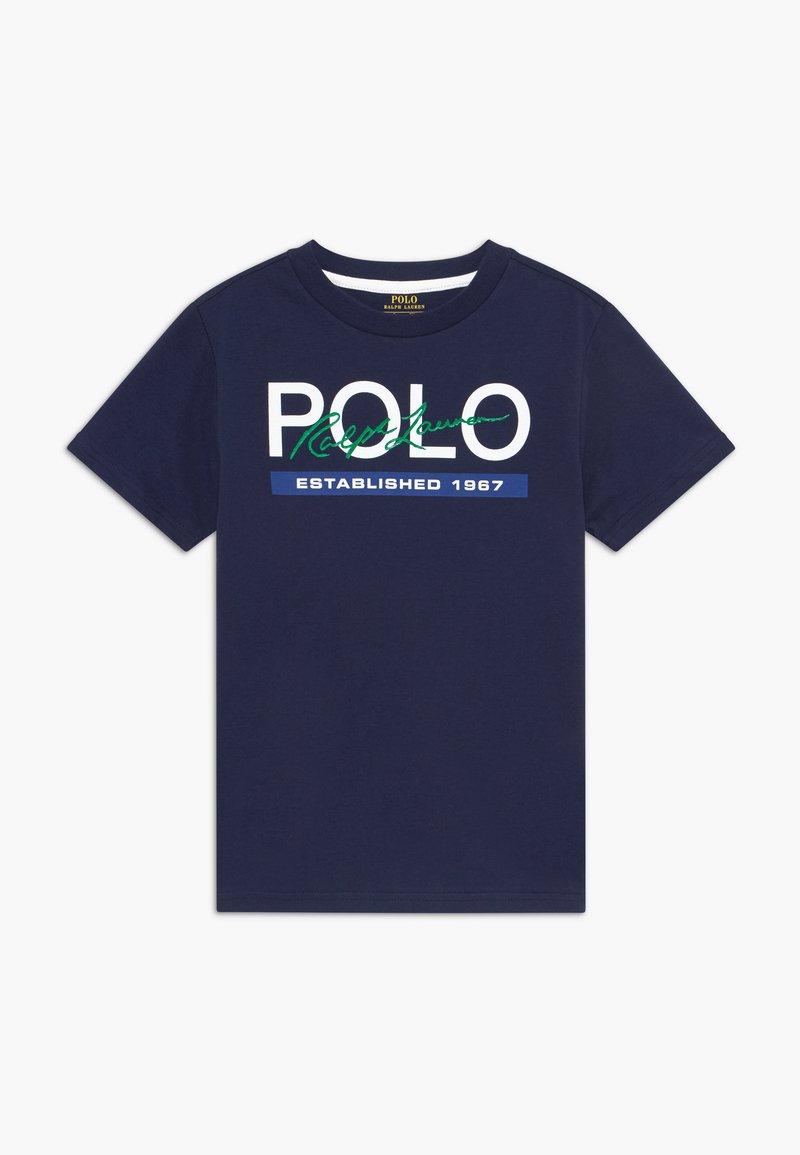 Polo Ralph Lauren - Triko spotiskem - newport navy