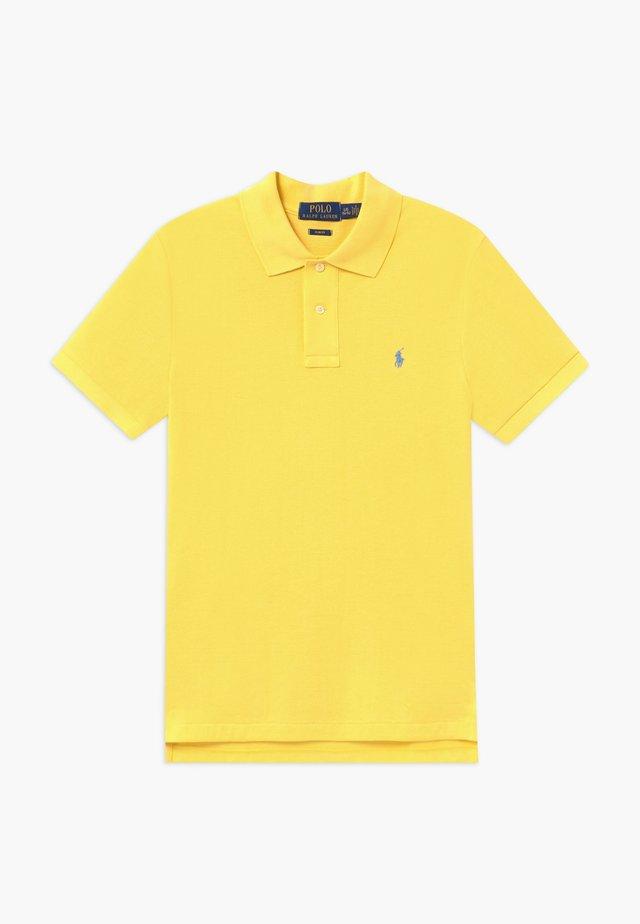 SLIM  - Piké - yellow