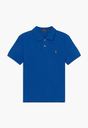 SLIM  - Polo shirt - travel blue