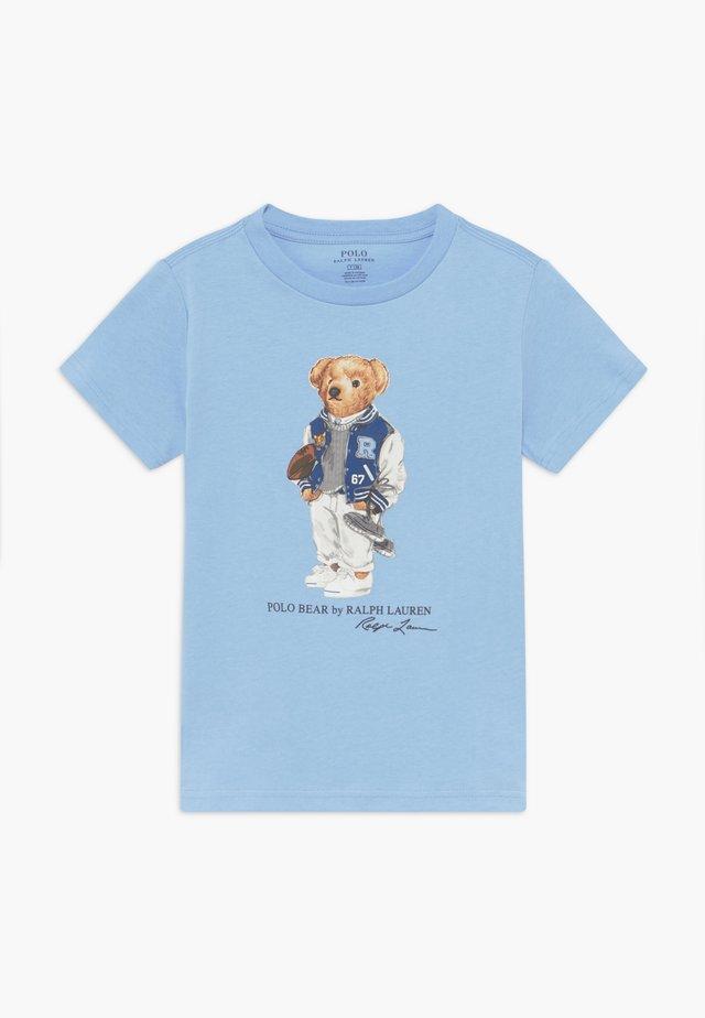 T-shirt print - blue lagoon