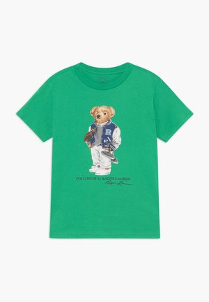 Print T-shirt - golf green
