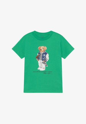 T-shirt med print - golf green